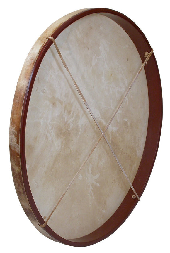 Frame Drums Dobani Pretuned Goatskin Head Wood Frame Drum w/ Beater 30