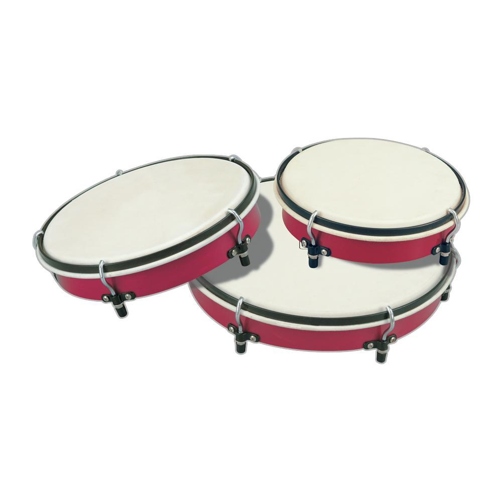"Frame Drums Halifax PVC Planera Frame Drum Set (8"", 10"", and 12"")"