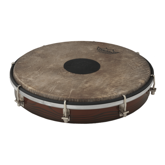 Frame Drums Remo Tablatone Frame Drum, Tunable, Skyndeep P3 Drumhead, 'Fish Skin' Graphic, Tablatone Dot, 10