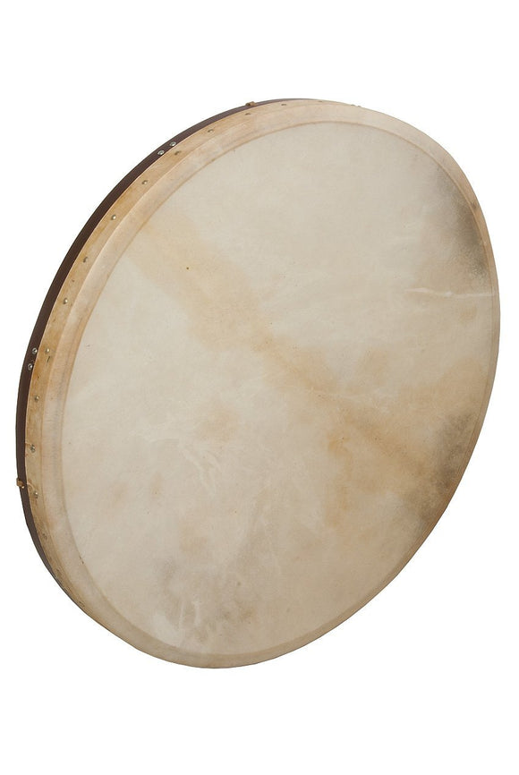 Frame Drums Tunable Goatskin Head Wooden Frame Drum with Beater, 30 x 2-inch