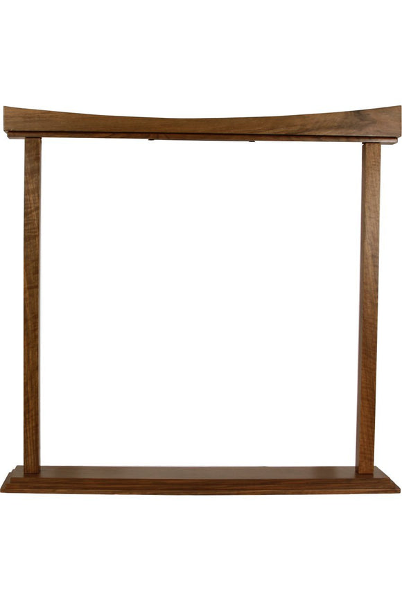 Gongs DOBANI Curved Gong Stand 22-Inch - Walnut
