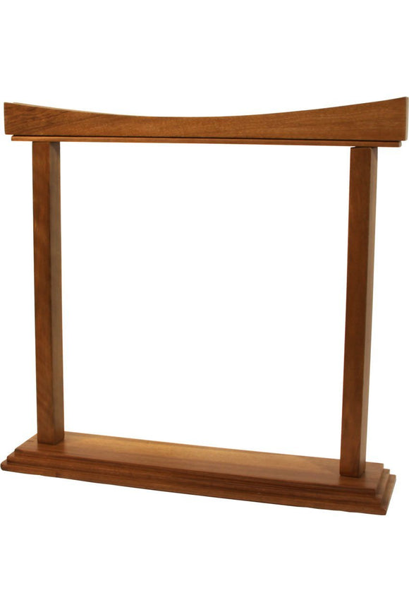 Gongs DOBANI Curved Walnut Gong Stand 14-Inch