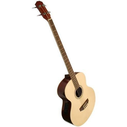Acoustic Bass Guitar With Electronics