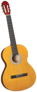 Guitars Catala Spanish Classical Guitar CC-2 Birch Top with Birch Back