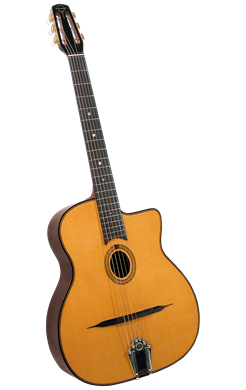 Guitars Gitane Django Guitar: DG-255 Oval Hole
