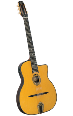 Guitars Gitane Django Guitar: DG-455 Acoustic-Electric Slimline