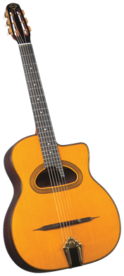 Guitars Gitane Gypsy Jazz Guitar: D-500 D Hole