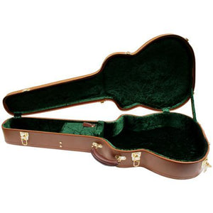 Guitars Golden Gate Deluxe Wood Hardshell Case for Gitane/Selmer Style Jazz Guitar (Brown)