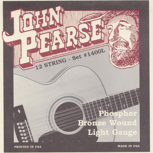 Guitars John Pearse 12 String Guitar String Set