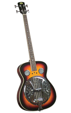 Guitars Regal Resonator Bass Guitar: RD-05