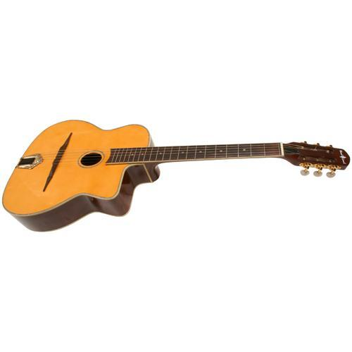 Guitars Wood Land Django Guitar: Spruce Top, Mahogany Back & Sides