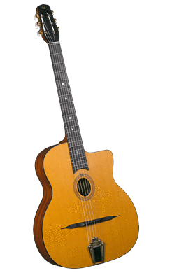 Gypsy Jazz Guitars Cigano GJ-10 Petite Bouche Gypsy Jazz Guitar