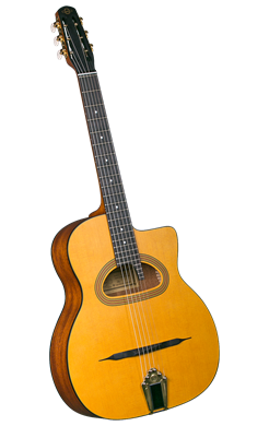 Gypsy Jazz Guitars Cigano GJ-15 Grande Bouche Gypsy Jazz Guitar