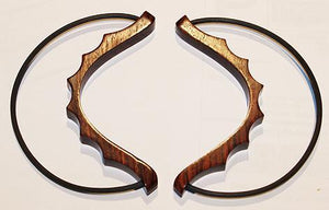 Hammered Dulcimers Jim Bows - Hammered Dulcimer Bows, Tamarind Wood, Pair
