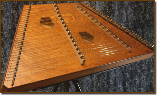 Hammered Dulcimers Phoebe Hammered Dulcimer Stained
