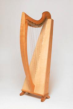 Harps Axline Harp w/ levers and case, Triplett, 30 strings