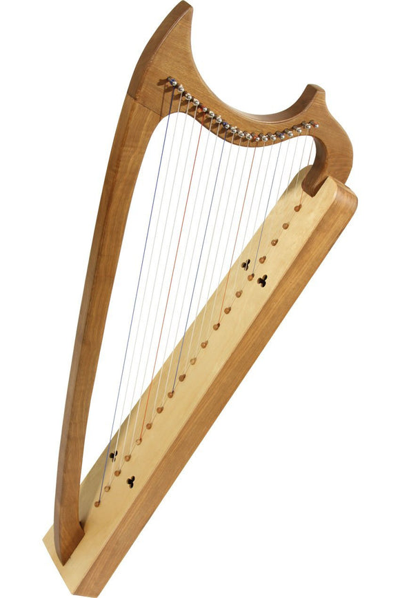 Harps Early Music Shop 19-String Gothic Harp - Walnut