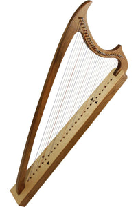 Harps Early Music Shop 29-String Gothic Harp - Walnut