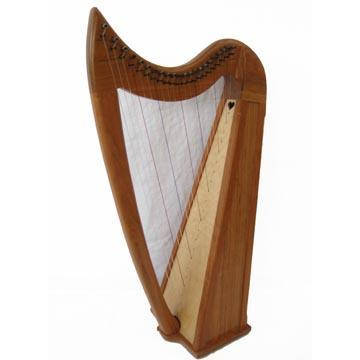 Harps Eve 22 String Harp Package, Cherry