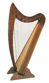 Harps Even Song Therapy Harp Package, Walnut