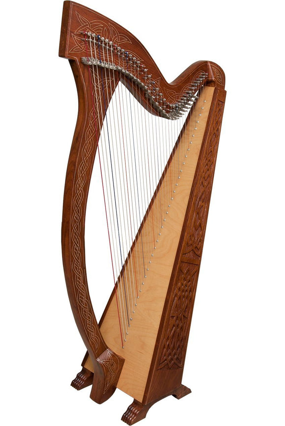 Harps Meghan Harp TM, 36 Strings, Knotwork