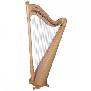 Harps Pillar Harp 38 Strings, Round Back, Ash