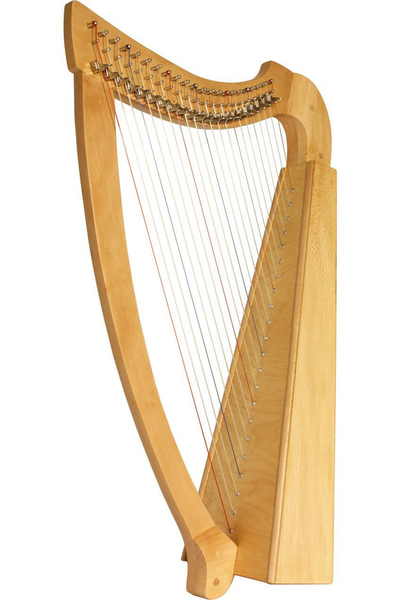 Harps Roosebeck Heather Harp 22-String - Lacewood
