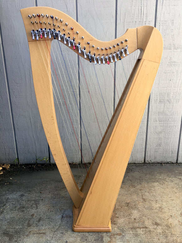Harps Small Harp 22 Strings, Ash