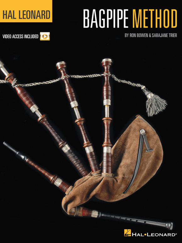 HAL LEONARD BAGPIPE METHOD with DVD