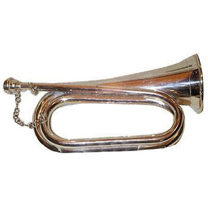 Horns Bugle L/P Silver Plated
