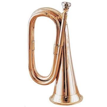 Horns Copper Bugle