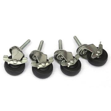 Joia Tubes 4 Non-Marking Casters (with locking brakes)