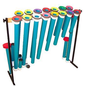 Joia Tubes Joia Tubes - Orff Two Octaves: C-C, F#, Bb, w/mallets
