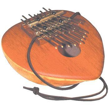 Kalimbas & Sansulas Double Bridge Thumb Piano