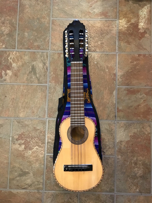 Latin Guitars Charango, Rosewood Fingerboard (Repaired)