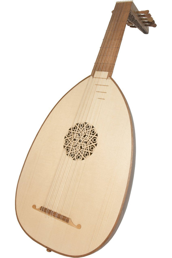 Lutes Roosebeck Deluxe 6-Course Lute Walnut