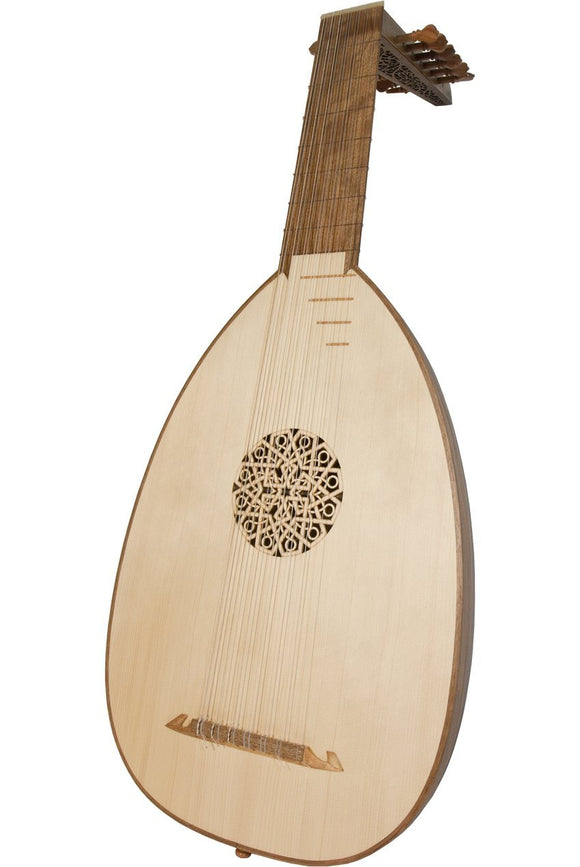Lutes Roosebeck Deluxe 7-Course Lute - Walnut