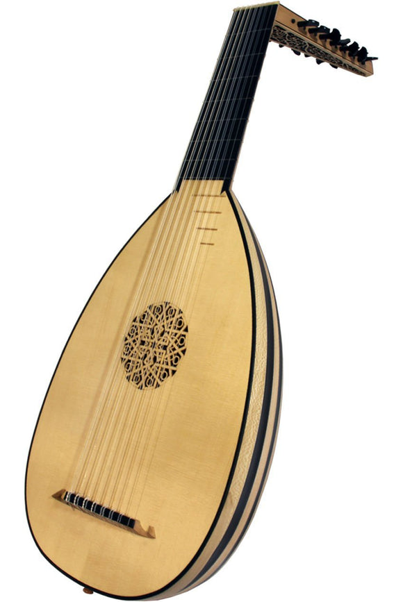 Lutes Roosebeck Deluxe 8-Course Lute - Ebony