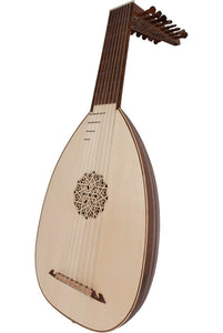 Lutes Roosebeck Deluxe 8-Course Lute Sheesham - Lefty