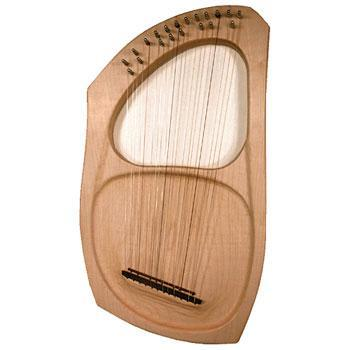 Lyres 23 String Chromatic Lyre, tuned G-F