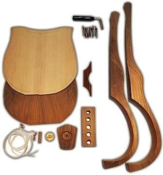 Lyres Old World Lyre Kit Nylon