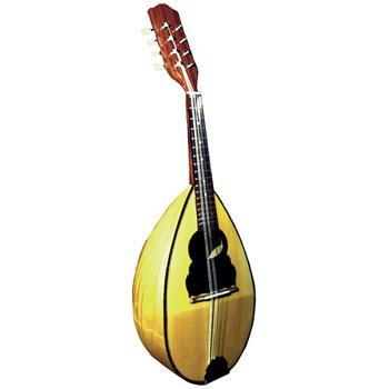 Mandolins Bowl Back Mandolin, Maple & Inlaid Pick guard