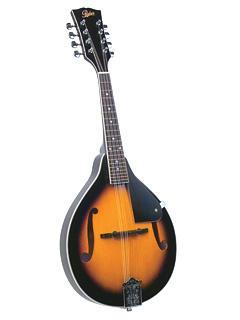 Mandolins Rover A-Model Mandolin - Solid Top - Sunburst