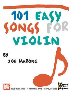 Media 101 Easy Songs for Violin