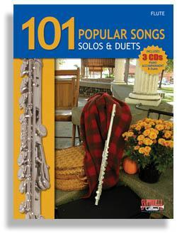 Media 101 Popular Songs for Flute * Solos & Duets * with 3 CDs