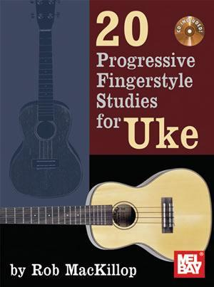 Media 20 Progressive Fingerstyle Studies for Uke