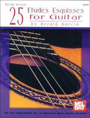 Media 25 Etudes Esquisses for Guitar