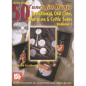 Media 50 Tunes For Banjo, Traditional, Old Time, Bluegrass, Celtic Solos
