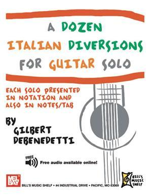 Media A Dozen Italian Diversions for Guitar Solo