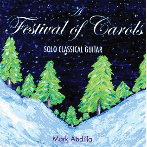 Media A Festival Of Carols - Solo Classical Guitar